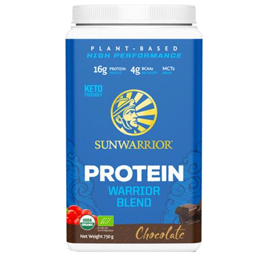 Πρωτεΐνη 'Warrior Blend' Σοκολάτα (750γρ) Sunwarrior