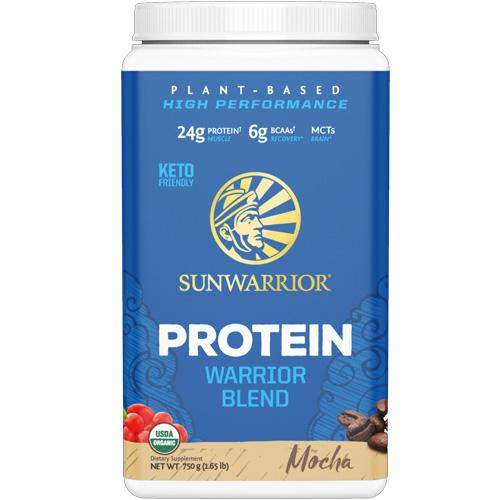 Πρωτεΐνη 'Warrior Blend' Μόκα (750γρ) Sunwarrior