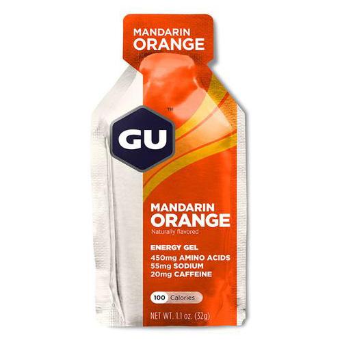 GU Ενεργειακό Τζελ 'Μανταρίνι - Πορτοκάλι' με 20mg Καφεΐνη (32γρ) GU
