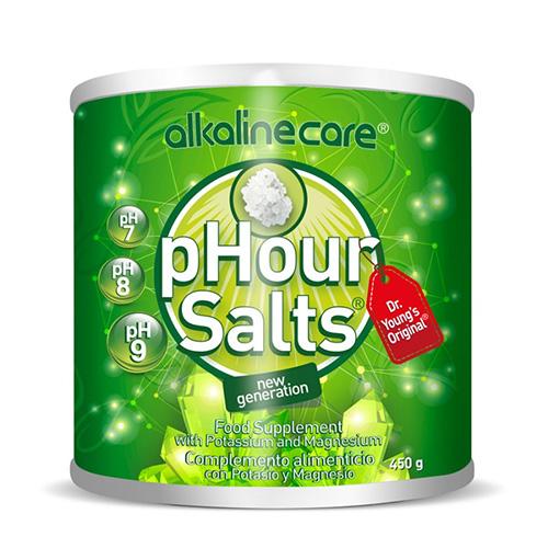 'Αλατα για Αλκαλοποίηση 'pHour Salts' (450γρ) Alkaline Care