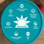 Κολλαγόνο με Βιταμίνη C 'Glow 5000' (200γρ) Amazonia