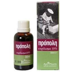 Εκχύλισμα Πρόπολης 10% σε Σταγόνες (30ml) Apipharm