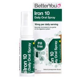 Σίδηρος σε Σπρέι 'Iron Daily 10' (25ml) Better You