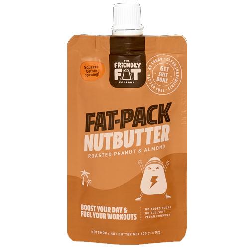 Πολτός Φυστικιών & Αμυγδάλων 'Fat-Pack Nutbutter' με MCT Oil - Vegan/Keto (40γρ) Friendly Fat