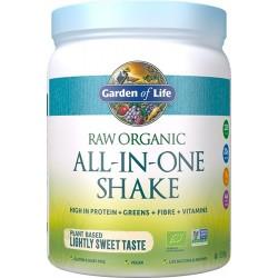 Μείγμα με Superfoods, Πρωτεΐνη, Ένζυμα, Προβιοτικά 'All-in-One Shake' Φυσικό (519γρ) Garden of Life