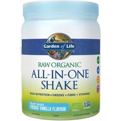 Μείγμα με Superfoods, Πρωτεΐνη, Ένζυμα, Προβιοτικά 'All-in-One Shake' Βανίλια (484γρ) Garden of Life