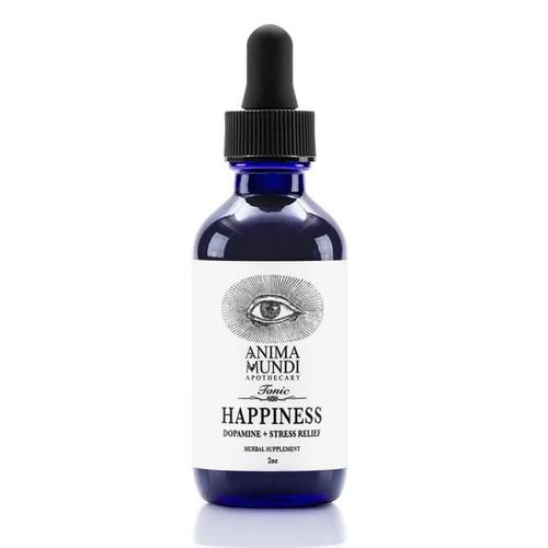 Διάλυμα Βοτάνων για Ανακούφιση από το Στρες & Ενίσχυση Ντοπαμίνης 'Happiness Tonic' (59ml) Anima Mundi