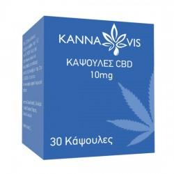 Κάψουλες με CBD 10mg (30κψλ) Kannavis