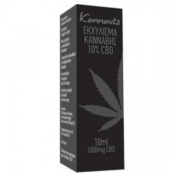 Ολικό Εκχύλισμα Κάνναβης 10% CBD (10ml) Kannavis