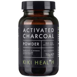 Ενεργός Φυτικός Άνθρακας σε Σκόνη (70γρ) Kiki Health