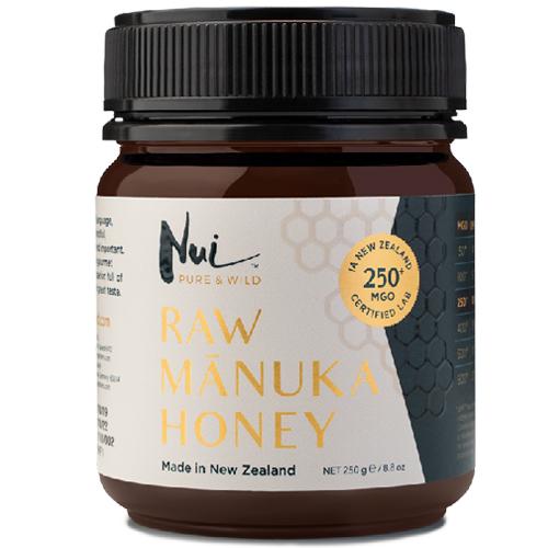 Ωμό Μέλι Μανούκα MGO 250+ (250γρ) Nui Honey
