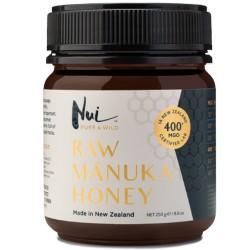 Ωμό Μέλι Μανούκα MGO 400+ (250γρ) Nui Honey