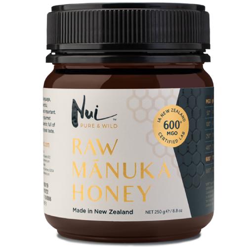 Ωμό Μέλι Μανούκα MGO 600+ (250γρ) Nui Honey