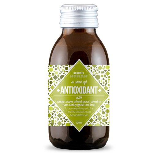 Shot για Αποτοξίνωση με Superfoods 'Antioxidant Shot' (100ml) Organic Human