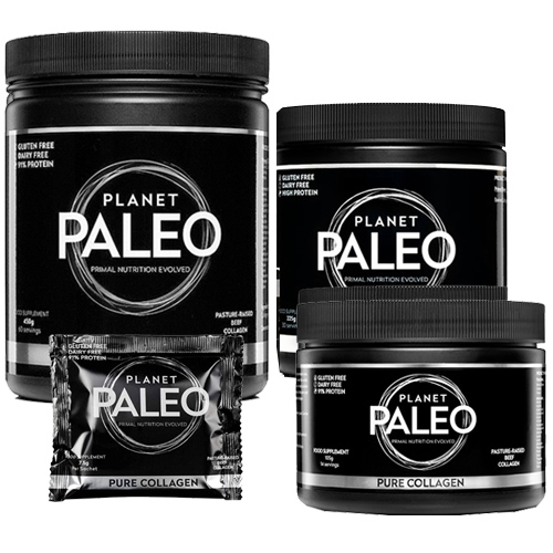 ΚολλαγόνοGrass-Fed σε Σκόνη 'Pure Collagen' - Planet Paleo