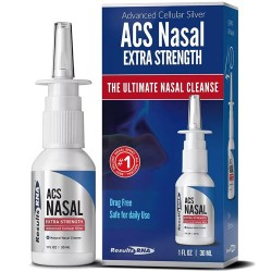 Ρινικό Αποσυμφορητικό Σπρέι με Κολλοειδή Άργυρο 'ACS Nasal Extra Strength' (30ml) Results RNA