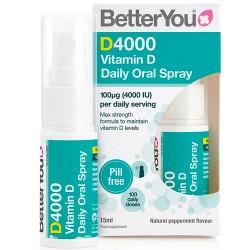 Βιταμίνη D3 σε Σπρέι 'DLux 4000IU' (15ml) Better You