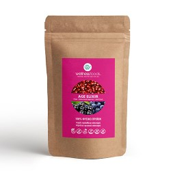 'Age Elixir' Μείγμα με Ρόδι, Φραγκοστάφυλο κ' Μύρτιλο (150γρ) Wellness Foods