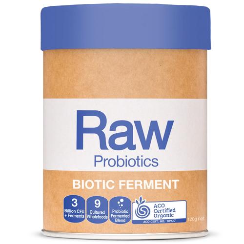 Μείγμα Προβιοτικών με Πρεβιοτικά 'Raw Probiotics - Biotic Ferment' (120γρ) Amazonia