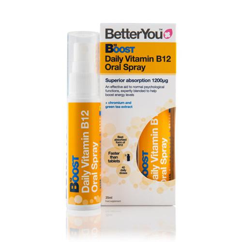 Βιταμίνη B12 σε Μορφή Σπρέι (25ml) Better You