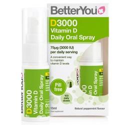 Βιταμίνη D3000 σε Σπρέι (15ml) Better You