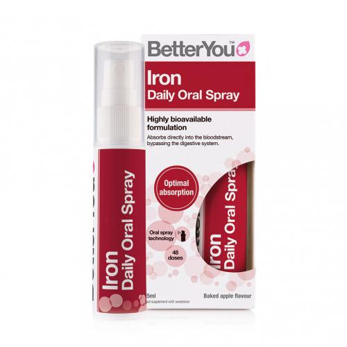 Σίδηρος σε Μορφή Σπρέι 'Iron Daily' (25ml) Better You