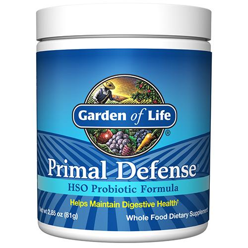 Μείγμα Προβιοτικών Primal Defense® Φόρμουλα με HSO™ (81γρ) Garden of Life
