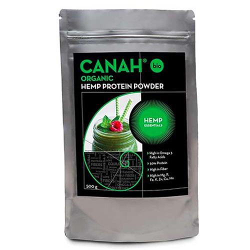 Πρωτεΐνη από Σπόρους Κάνναβης Hemp Protein (500γρ) Canah