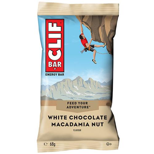 Μπάρα Ενέργειας 'Clif Bar' με Λευκή Σοκολάτα κ' Μακαντέμια (68γρ) Clif Bar
