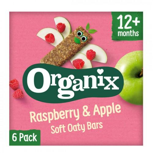 Μπάρες Βρώμης με Μήλο & Βατόμουρο +12μ (6x30γρ) Organix