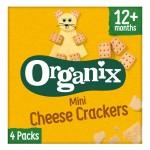 Μίνι Κράκερς Τυριού +12μ (4x20γρ) Organix