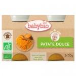 Γεύμα με Γλυκοπατάτα +4μ (2 x 130γρ) Babybio