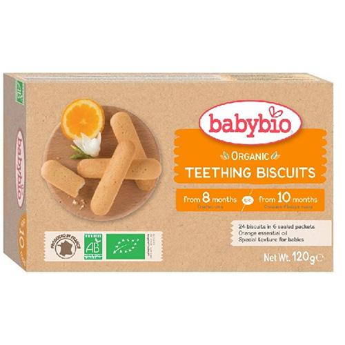 Μπισκότα Οδοντοφυΐας +10μ (24τμχ) Babybio