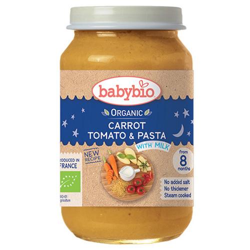 Γεύμα με Ζυμαρικά & Λαχανικά +8μ (200γρ) Babybio