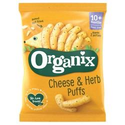 Σνάκ Καλαμποκιού με Τυρί & Μυρωδικά +10μ (15γρ) Organix