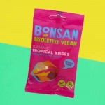 Vegan Ζελεδάκια Φρούτων & Καρύδας 'Tropical Kisses' (50γρ) Bonsan