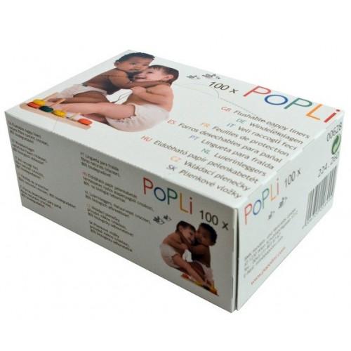 Βιοδιασπώμενα Επιθέματα Πάνας Popli (Κουτί) Popolini
