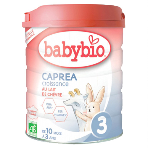 Βρεφική Φόρμουλα Ανάπτυξης από Κατσικίσιο Γάλα 'Caprea 3' +10μ (800γρ) Babybio
