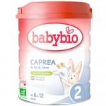 Βρεφική Φόρμουλα από Κατσικίσιο Γάλα 'Caprea 2' για 6-12μ + ΔΩΡΟ Tote Bag (800γρ) Babybio