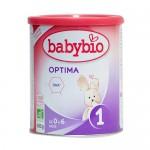 Βρεφική Φόρμουλα από Αγελαδινό Γάλα 'Optima 1'για +0μ + ΔΩΡΟ Tote Bag (400γρ) Babybio