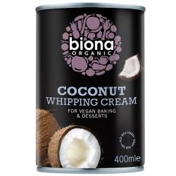 Vegan Κρέμα Σαντιγί από Καρύδα (400ml) Biona