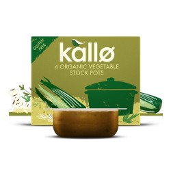 Συμπυκνωμένος Ζωμός 'Λαχανικών' - Χωρίς Γλουτένη (4x24γρ) Kallo