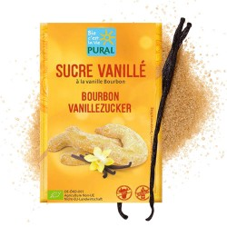 Ζάχαρη Βανίλιας Bourbon Χωρίς Γλουτένη (5x8γρ) Pural