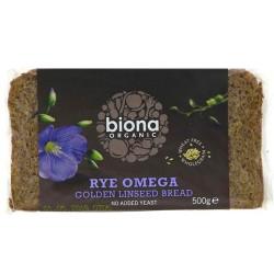 Ψωμί Σίκαλης με Ωμέγα 3 (500γρ) Biona
