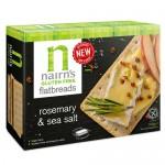 Κράκερς Βρώμης με Δενδρολίβανο & Θαλασσινό Αλάτι - Χωρίς Γλουτένη (150γρ) Nairn's