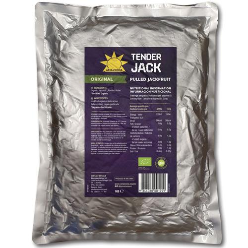 Pulled Jackfruit Γεύση 'Φυσική' (1kg) Amazonia