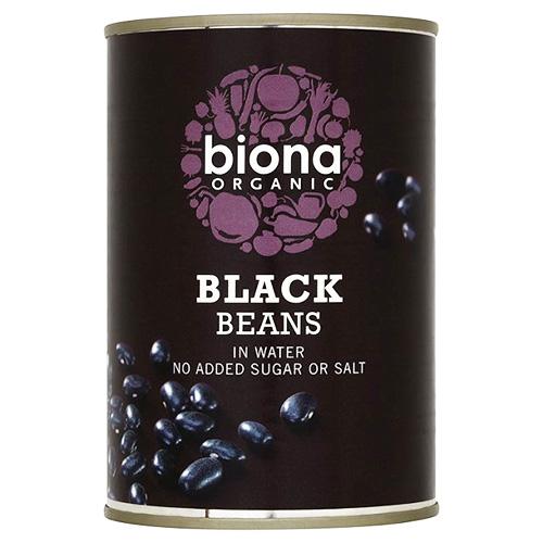 Έτοιμα Μαύρα Φασόλια (400γρ) Biona