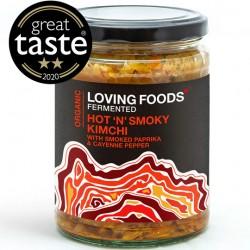 Κίμτσι Λαχανικών με Πάπρικα & Tamari - Ωμό & Ζυμωμένο (500gr) Loving Foods
