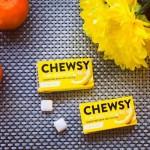 Vegan Φυτική Τσίχλα με Ξυλιτόλη 'Λεμόνι' (10τμχ) Chewsy