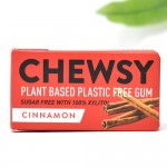 Vegan Φυτική Τσίχλα με Ξυλιτόλη 'Κανέλα' (10τμχ) Chewsy